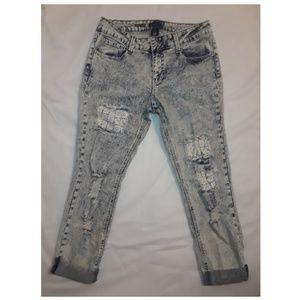 Rampage Jeans - RAMPAGE Stone Wash Crop Jeans 👖